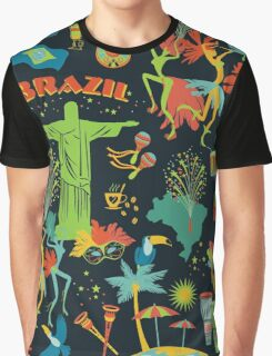Brazilian Night Graphic T-Shirt