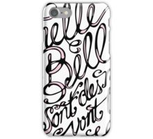 Michelle ma belle iPhone Case/Skin