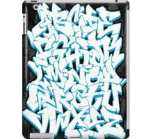 Graffiti Alphabet iPad Case/Skin