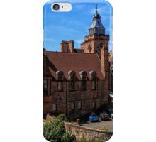 Well Court, Dean Village. Edinburgh iPhone Case/Skin