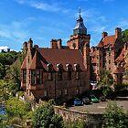Well Court, Dean Village. Edinburgh by Miles Gray