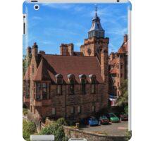 Well Court, Dean Village. Edinburgh iPad Case/Skin