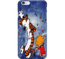 Dancing Calvin and Hobbes iPhone Case/Skin
