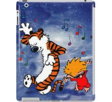 Dancing Calvin and Hobbes iPad Case/Skin