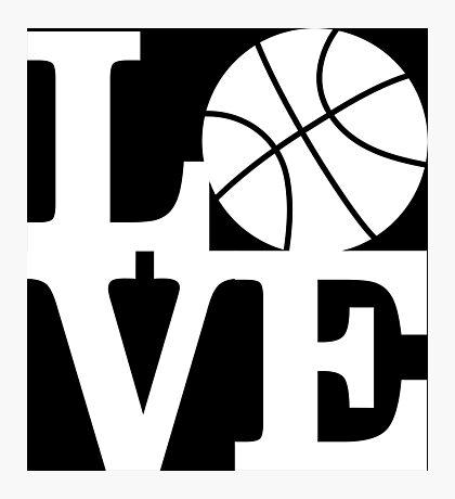 Basketball - Love Photographic Print