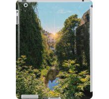 Water of Leith with Dean Village, Edinburgh iPad Case/Skin