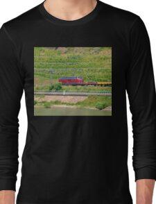 German Freight Train Long Sleeve T-Shirt