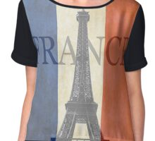 france Chiffon Top