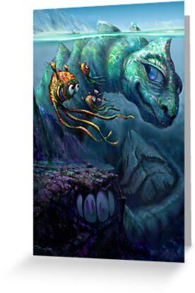 Sea Creature by Tom Godfrey