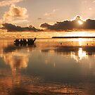 Sunset Departure - Pakin Atoll, Micronesia by Alex Zuccarelli