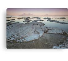 Sunset on Lake Garda Canvas Print