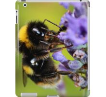 Bumble Bee & Lavender iPad Case/Skin