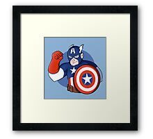 Captain America- the Star Spangled Man with a Plan Framed Print