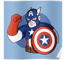 Captain America- the Star Spangled Man with a Plan Poster