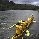 Canoe Racers - Sokehs Island by Alex Zuccarelli