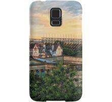Edinburgh Sunset from Princes Street Gardens Samsung Galaxy Case/Skin