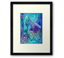 Soul flight Framed Print
