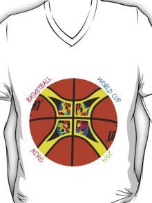 Basketball World Cup Spain 2014 Official ball T-Shirt
