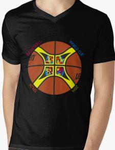 Basketball World Cup Spain 2014 Official ball Mens V-Neck T-Shirt