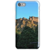 Scots American War Memorial Overlooking Edinburgh Castle iPhone Case/Skin