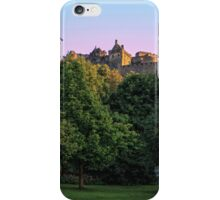 The Genius of Architecture Statue below Edinburgh Castle iPhone Case/Skin