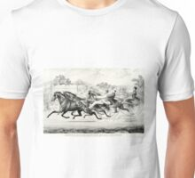 George M. Patchen, Brown Dick and Millers Damsel - 1859 Unisex T-Shirt