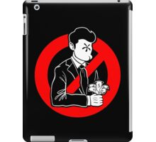 Evil and Greedy Corporation iPad Case/Skin