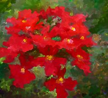 Impressionist flower by imagerially
