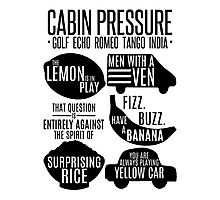Cabin pressure moments  Photographic Print