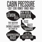 Cabin pressure moments  by cucumberpatchx