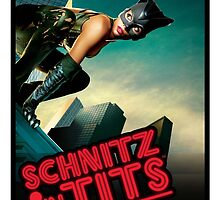 Super Heroes - Cat Woman by SchnitznTits