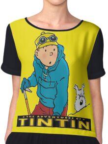 tintin_adventure Chiffon Top