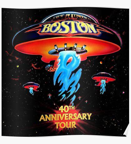 Boston 40th Poster