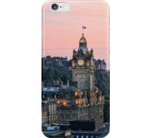 Edinburgh Skyline from Calton Hill. Scotland iPhone Case/Skin