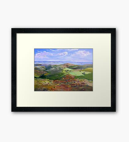 From Hancocks Lookout South Australia Framed Print