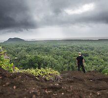 Nipai Rock - Pohnpei, Micronesia by Alex Zuccarelli