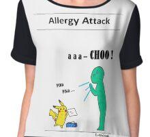 Allergy attack Chiffon Top