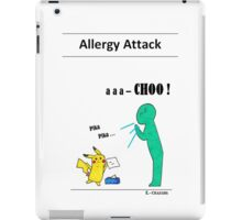 Allergy attack iPad Case/Skin