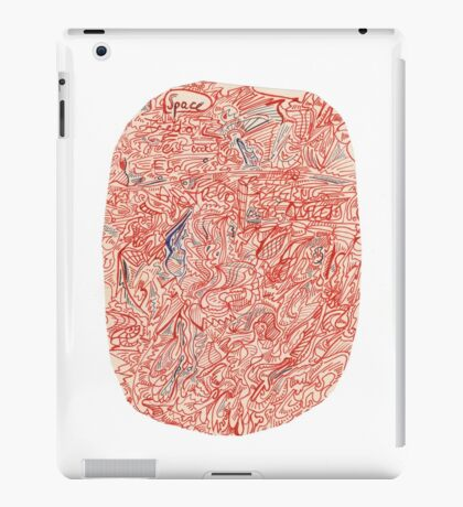 0410 - Space is All Around iPad Case/Skin
