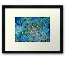 Sea altar Framed Print