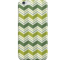 Chevron Stripes - Avocado iPhone Case/Skin