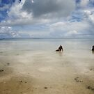 Nahlap Sand Flats - Pohnpei, Micronesia by Alex Zuccarelli