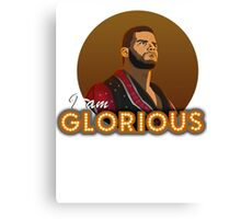 Glorious - Roode Canvas Print