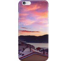 Sunset in Vernazza  iPhone Case/Skin