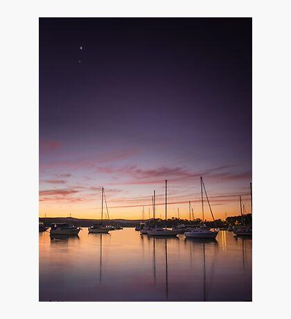 Lake Sunset I Photographic Print