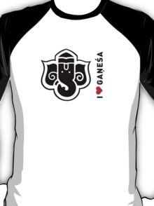 I LUV GANESHA | 03 T-Shirt