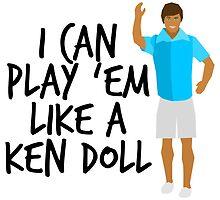 Ken Doll Heart Attack by lovaticmerch