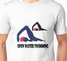 Open Water Swimming Unisex T-Shirt