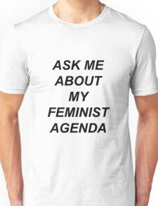Bobbi Morse - Ask me about my feminist agenda Unisex T-Shirt