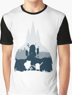 Ice King Silhouette Graphic T-Shirt